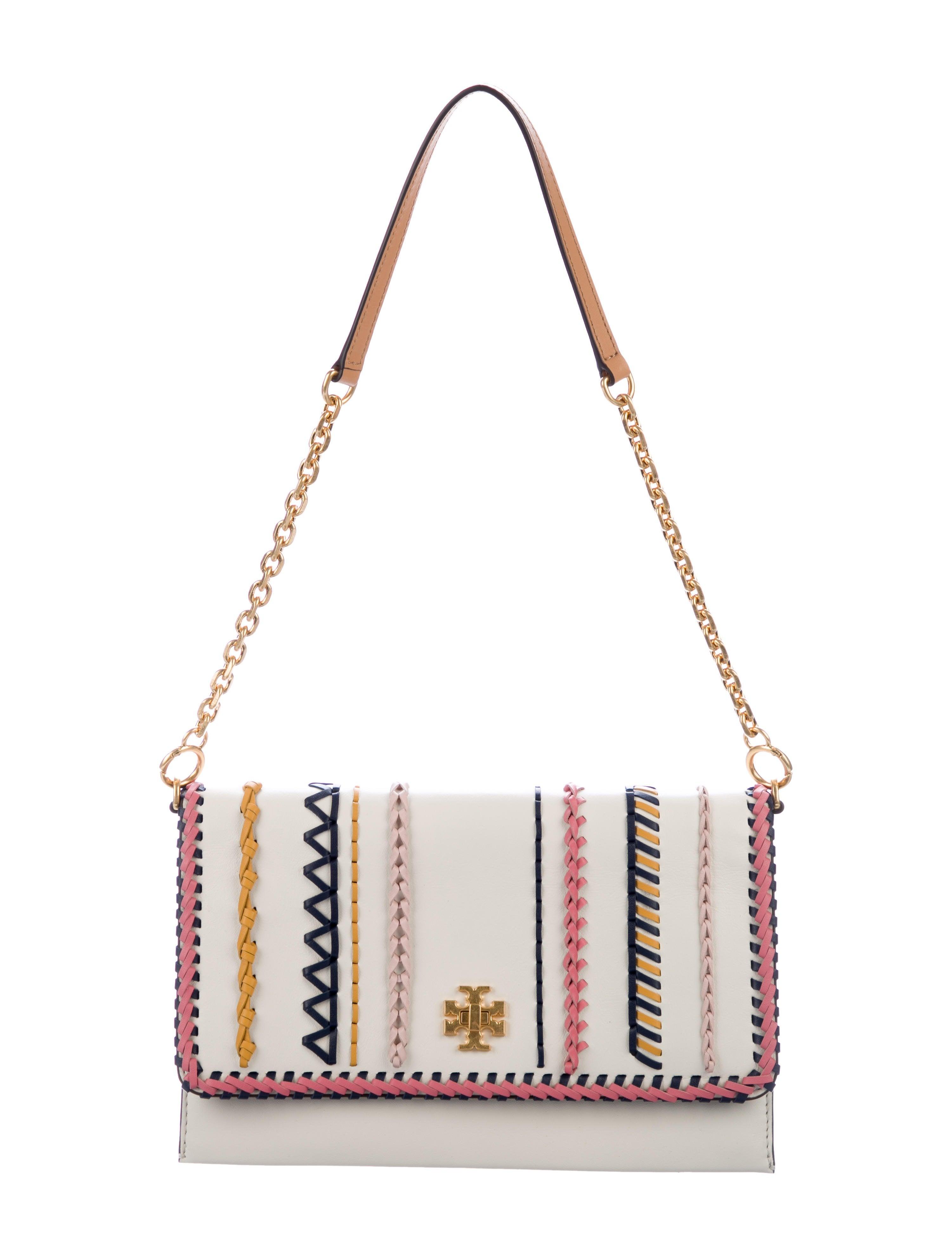 5e38239212f0 Tory Burch Kira Whipstitch Clutch w  Tags - Handbags - WTO154033 ...