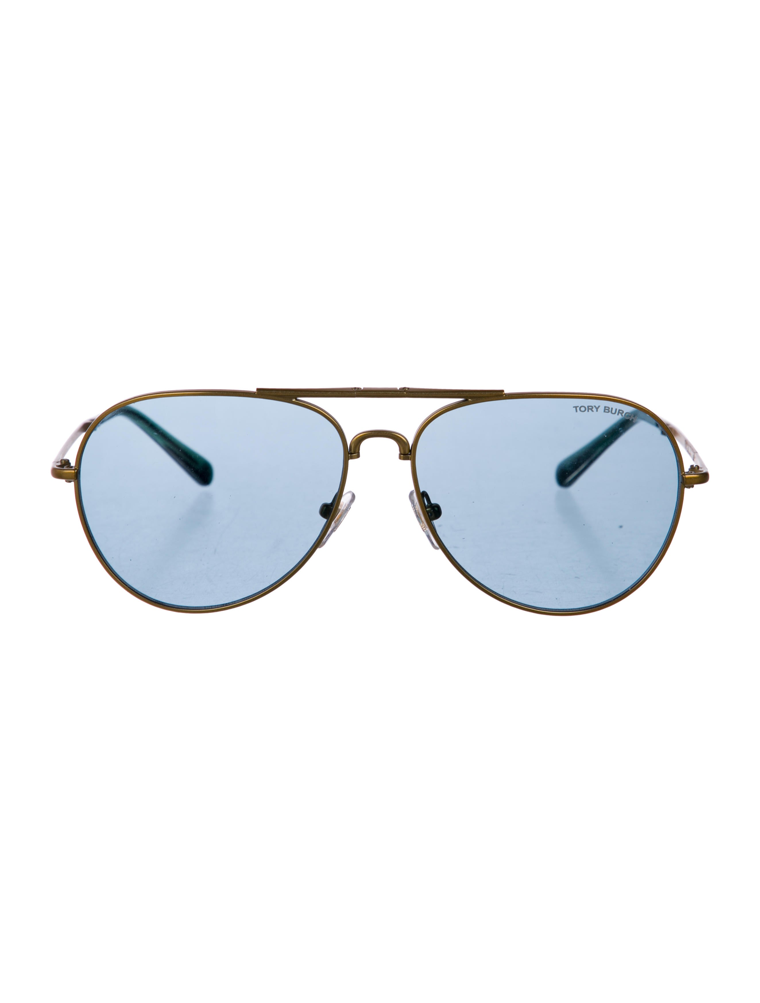 0da7dd122c42f Tory Burch Tinted Aviator Sunglasses w  Tags - Accessories ...