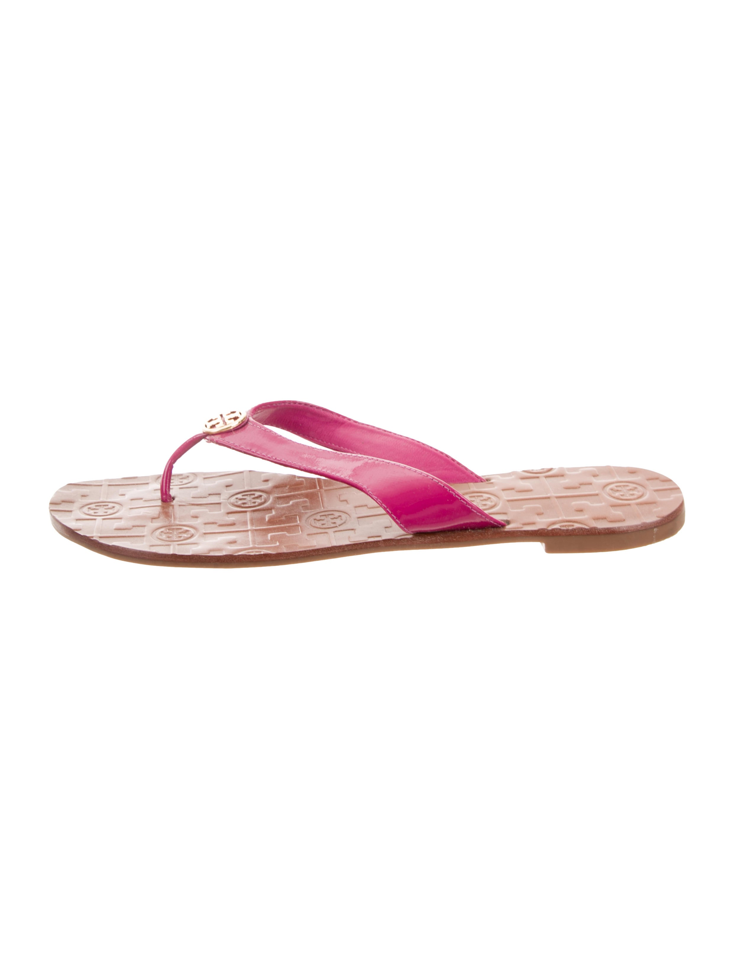 b198af17f5e Tory Burch Leather Thong Sandals - Shoes - WTO157527