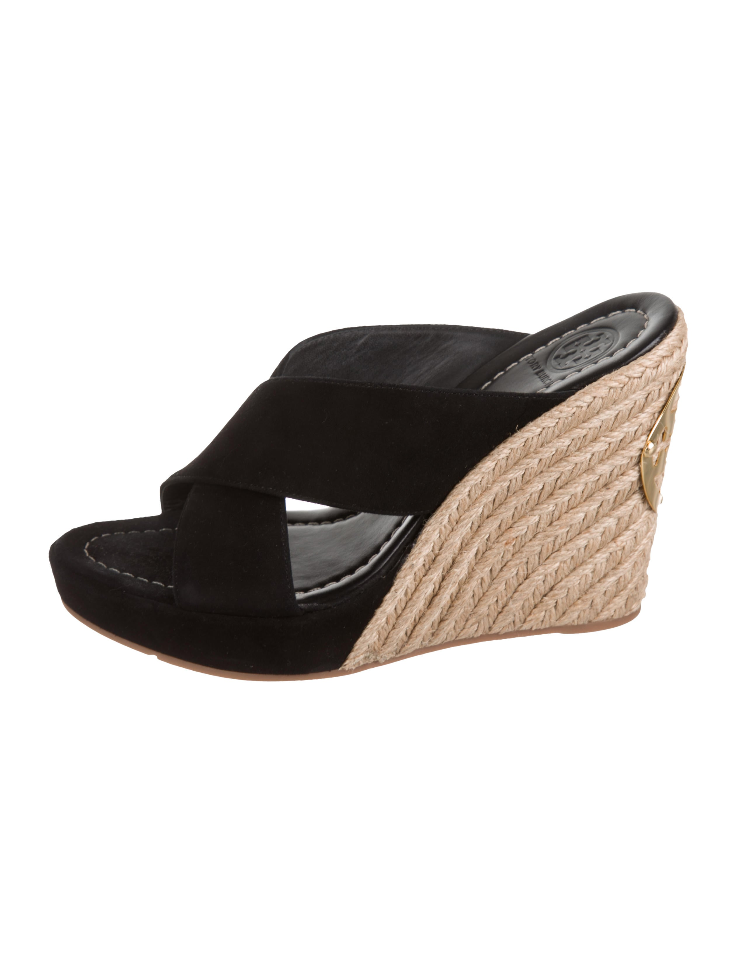 611c242282c Tory Burch Bailey Espadrille Wedge Sandals - Shoes - WTO158561