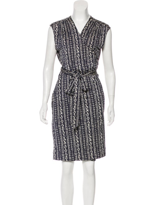 dd3560b01d1 Tory Burch Printed Wrap Dress - Clothing - WTO159354 | The RealReal