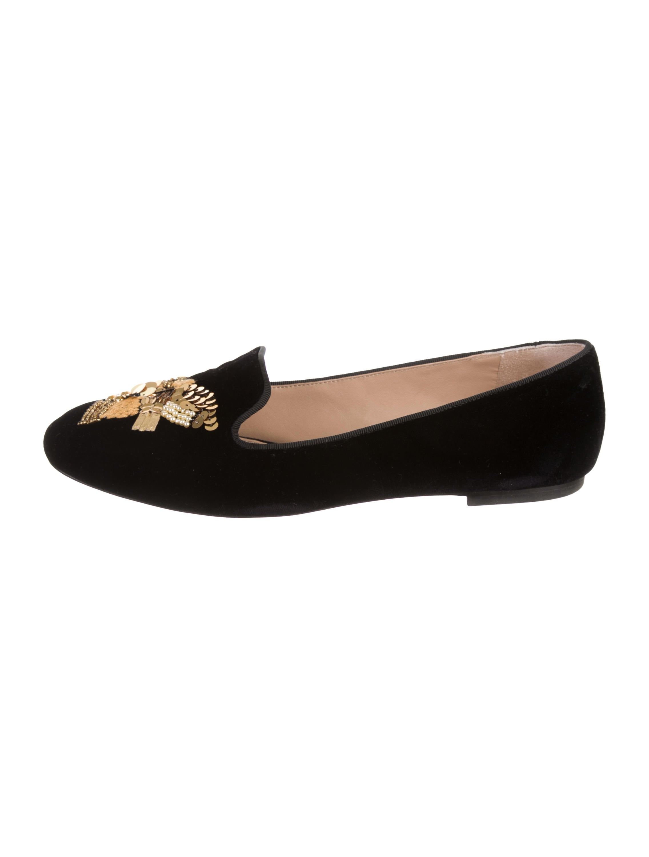 6e3ae9b4abf Tory Burch Peace Smoking Slippers - Shoes - WTO160010