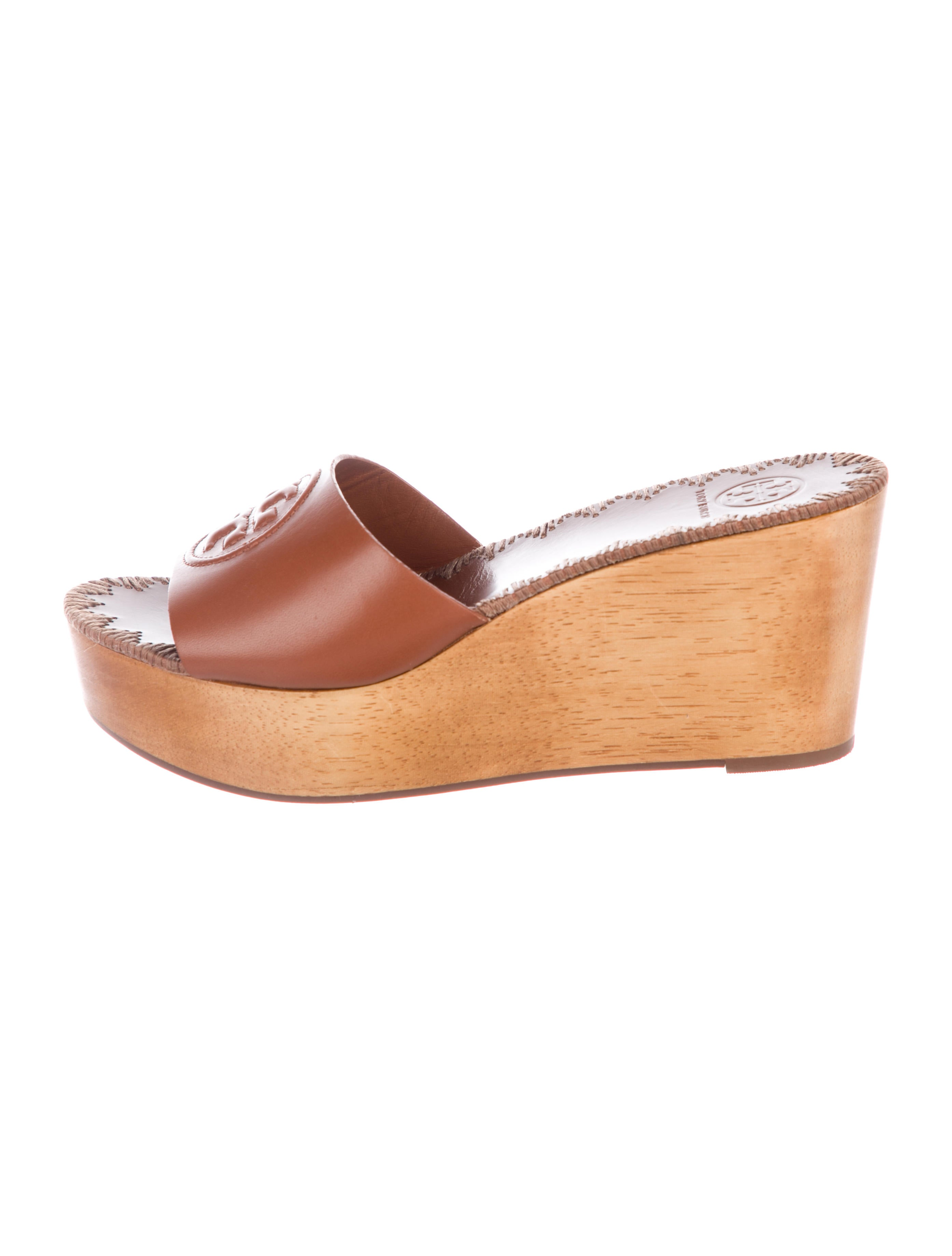 3965bd5be86a4 Tory Burch Patty Wedge Sandals w/ Tags - Shoes - WTO160977 | The ...