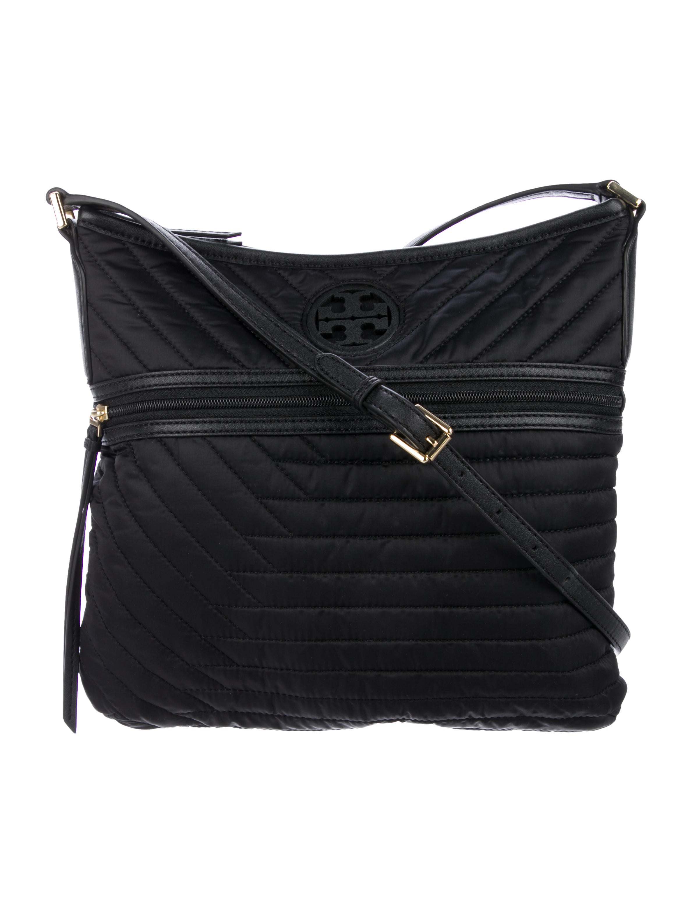 ee66609d09c Tory Burch Quilted Nylon Swingpack - Handbags - WTO165316