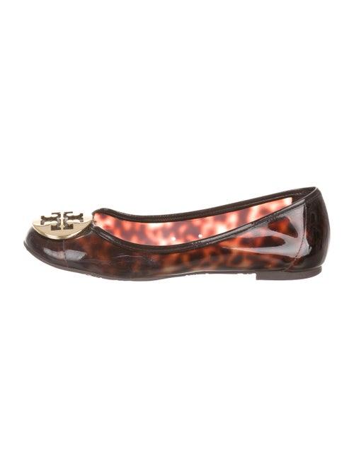 4f45e69b0918 Tory Burch Patent Leather Reva Flats - Shoes - WTO174075