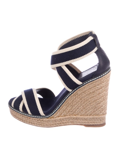 15ee03dc09116 Tory Burch Espadrille Platform Wedges - Shoes - WTO176725