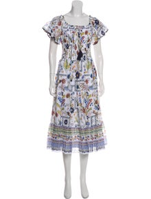 1aaaa5f89f Tory Burch. Floral Midi Dress