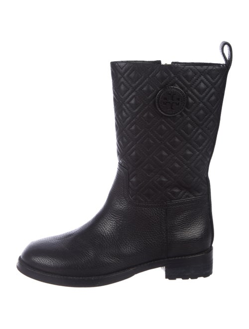 546a5a3ad9d8 Tory Burch Leather Mid-Calf Boots - Shoes - WTO181397