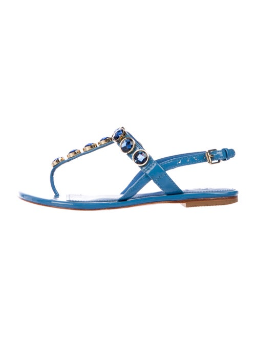 2a598cc6213 Tory Burch Embellished Thong Sandals - Shoes - WTO182077