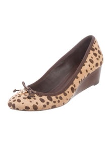 4c9f47953d35 Patent Leather Reva Flats. Size  8.5.  85.00 · Tory Burch. Ponyhair Ballet  Wedges