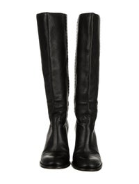 Leather Knee-High Boots image 3