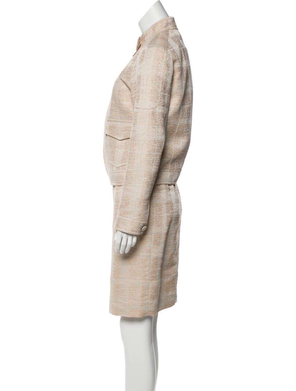 Tory Burch Tweed Pattern Dress Set - image 2