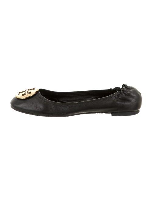Tory Burch Reva Ballet Flats Leather Ballet Flats