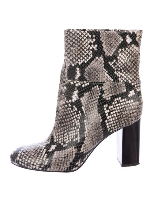 Tory Burch Leather Animal Print Boots
