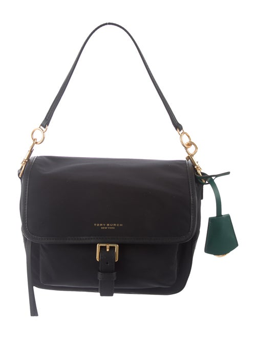 Tory Burch Nylon Tilda Crossbody Bag Black