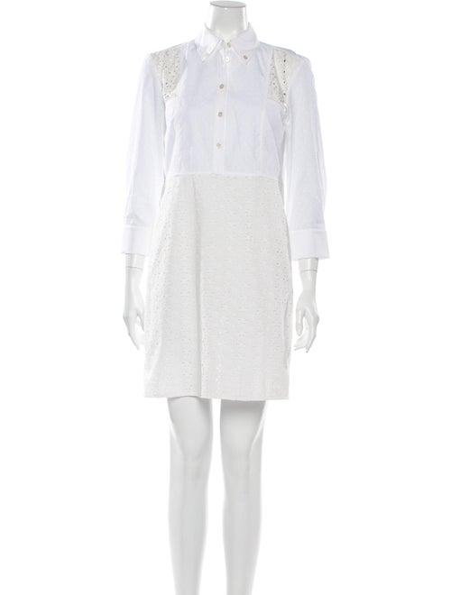Tory Burch Mini Dress White