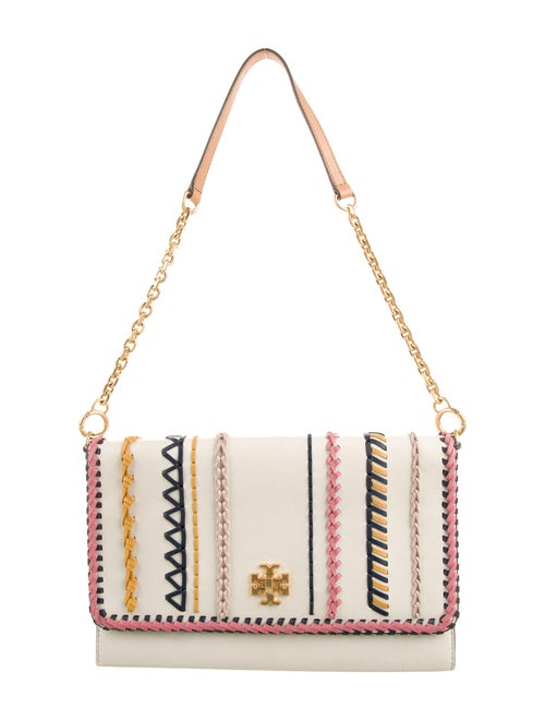 Tory Burch Leather Shoulder Bag Gold