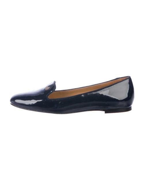 Tory Burch Samanta Smoking Patent Leather Loafers