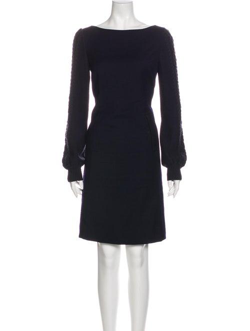 Tory Burch Wool Mini Dress Wool