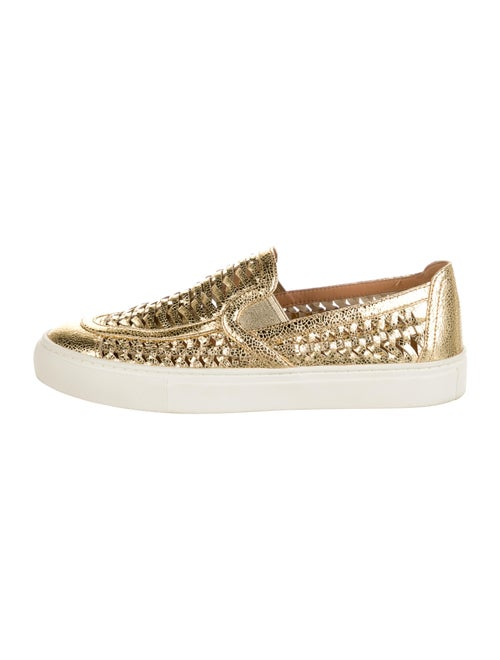 Tory Burch Hurache 2 Loafer Sneakers Gold