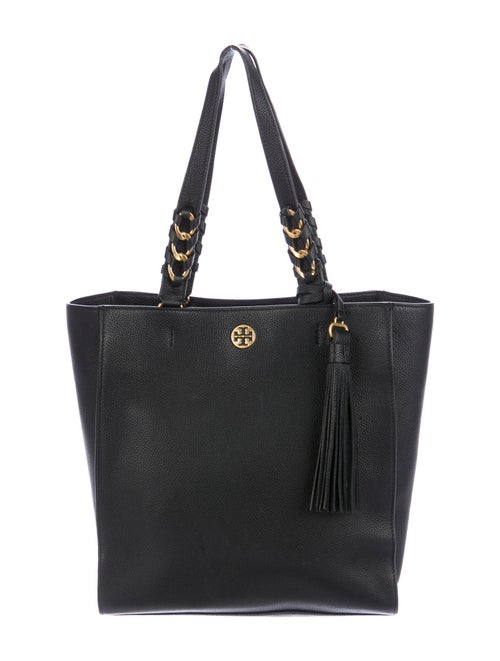 Tory Burch Leather Tote Black