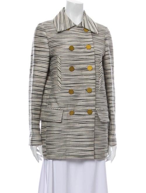 Tory Burch Striped Coat