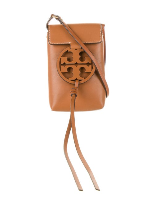 Tory Burch Leather Crossbody Bag Brown
