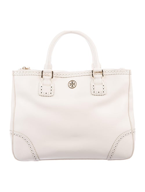 Tory Burch Leather Tote Gold
