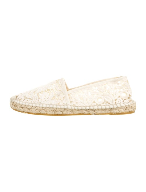 Tory Burch Lace Pattern Espadrilles