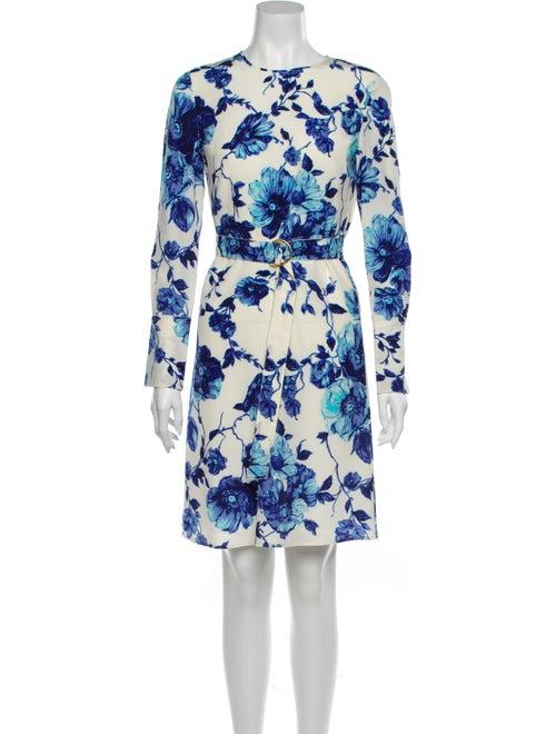 Tory Burch Silk Knee-Length Dress White