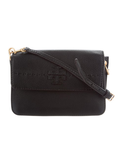 Tory Burch Leather Crossbody Bag Black