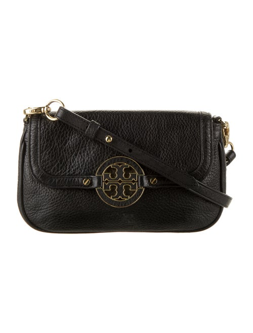 Tory Burch Leather Crossbody Bag Black