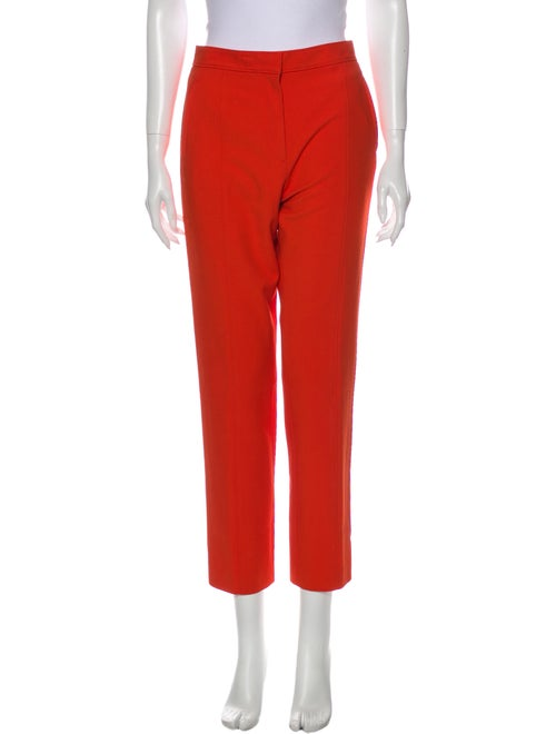 Tory Burch Straight Leg Pants Orange