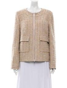 Tory Burch Tweed Pattern Evening Jacket