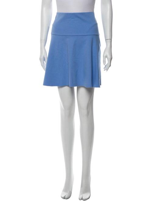 Tory Burch Mini Skirt Blue
