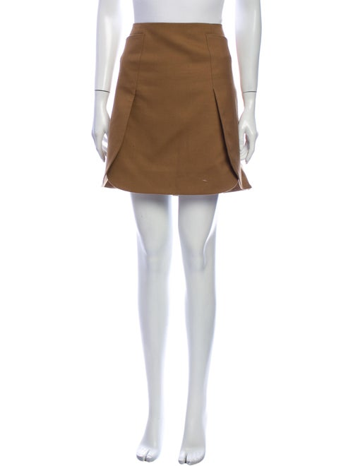 Tory Burch Wool Mini Skirt Wool