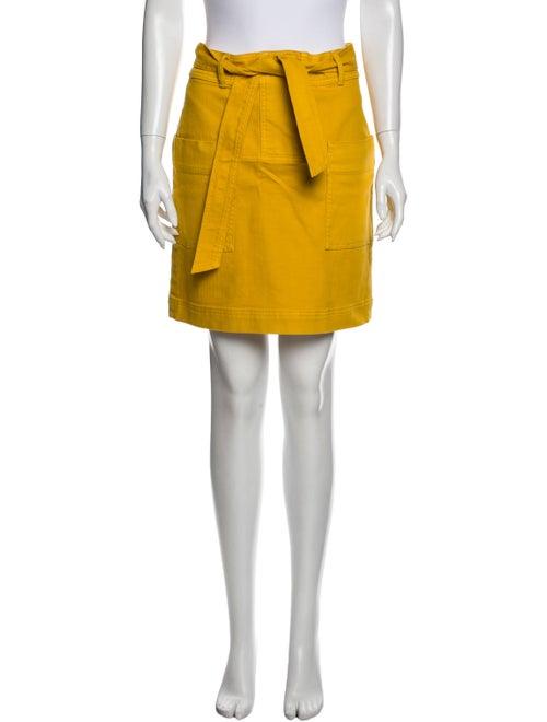 Tory Burch Mini Skirt w/ Tags Yellow