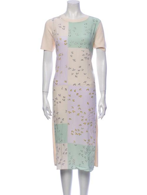 Tory Burch Greer Midi Length Dress w/ Tags