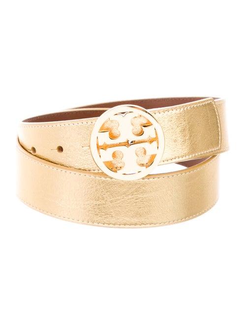 Tory Burch Leather Belt Gold