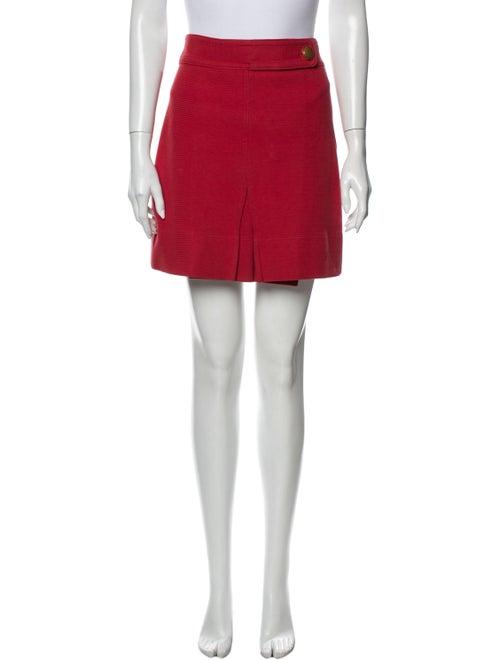 Tory Burch Mini Skirt Red