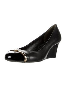 Tory Burch Leather Studded Accents Pumps