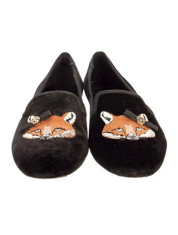 Fox Smoking Slippers