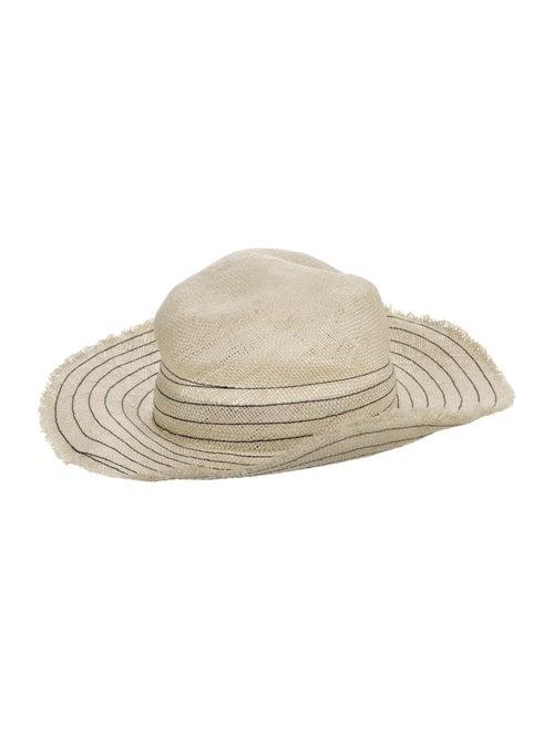 Tory Burch Wide Brim Hat Tan