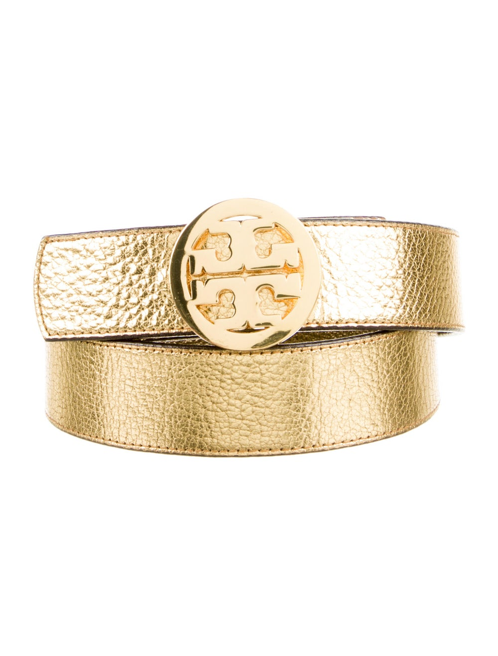 Tory Burch Leather Belt Gold - image 1