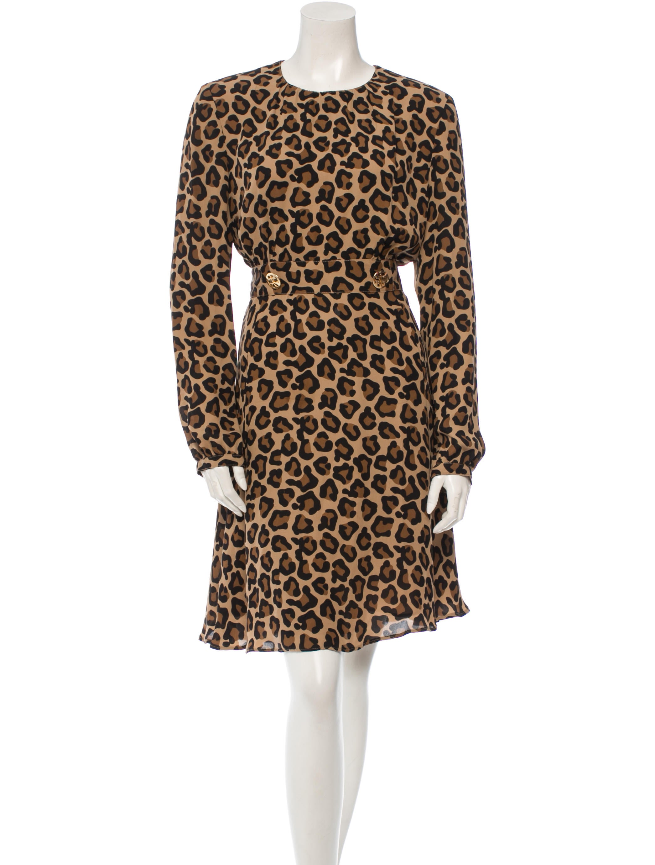 Tory Burch Animal Print Dress Clothing Wto39366 The