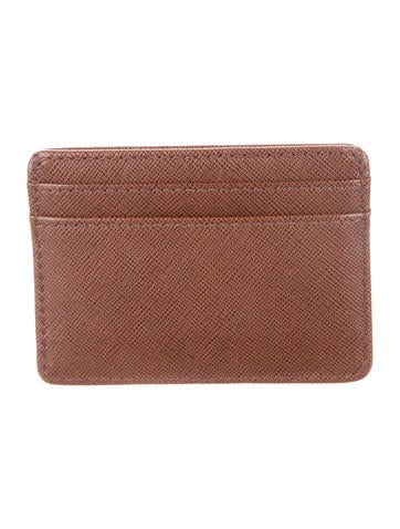 Leather Logo Cardholder