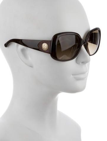 Logo Oversize Sunglasses