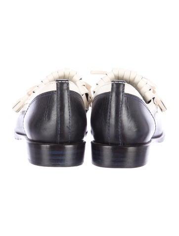 Kiltie Leather Loafers