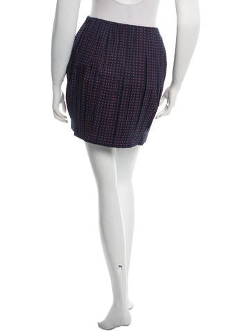 burch pleated mini skirt clothing wto60550 the