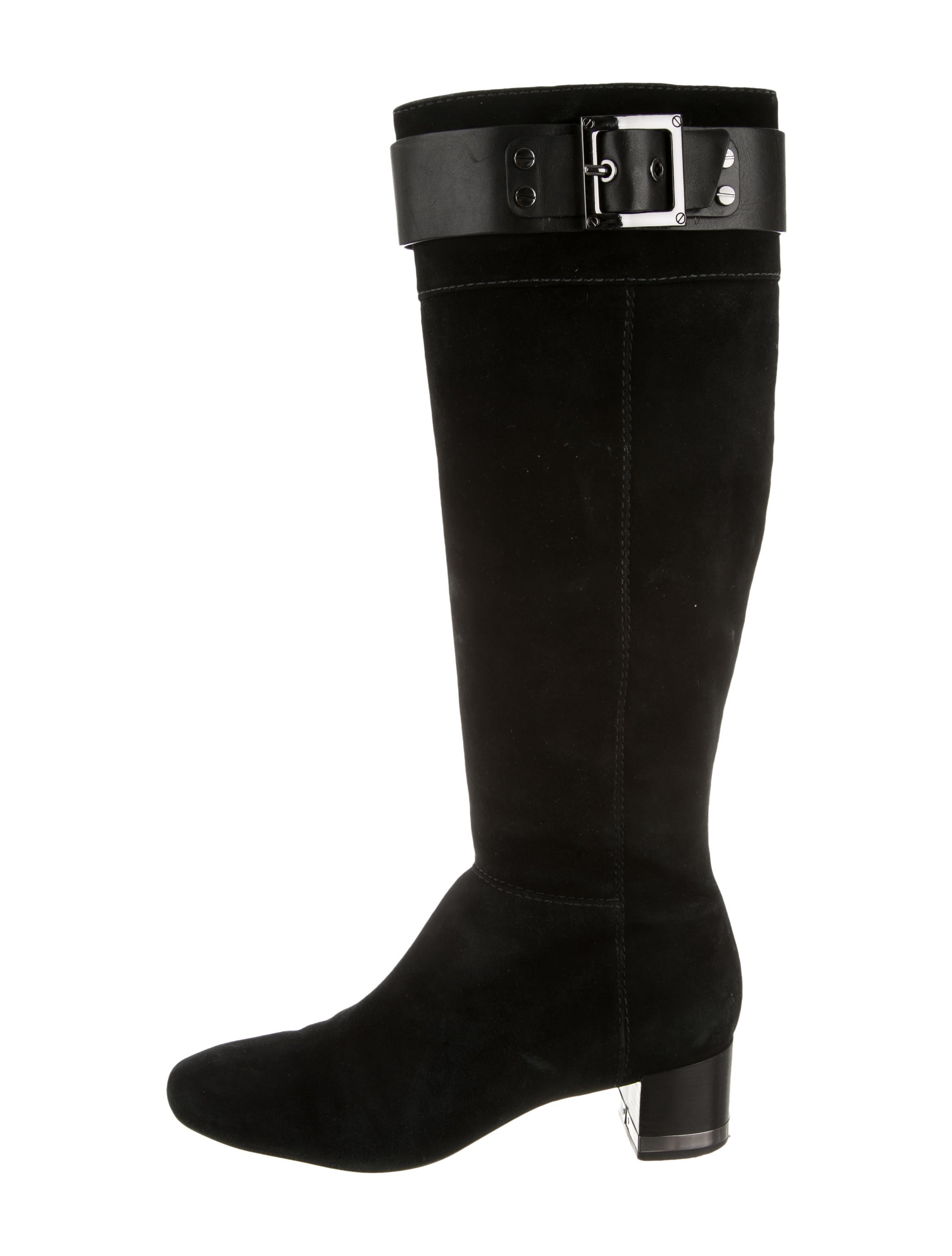 burch suede knee high boots shoes wto70636 the